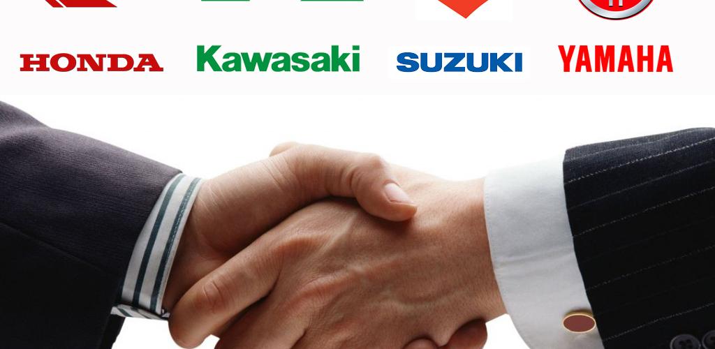 Ιστορική συμφωνία των 4 Ιαπώνων κατασκευαστών για ηλεκτρικές μοτοσυκλέτες